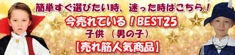 人気売れ筋ハロウィン衣装(キッズ男の子)